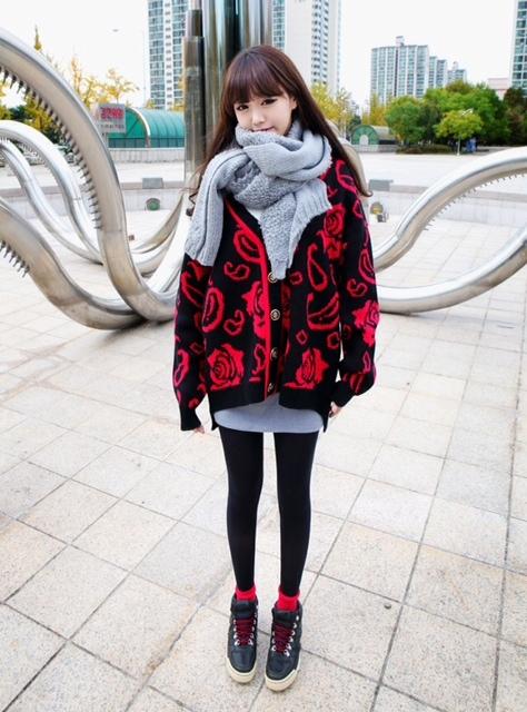 《差し色を取り入れればオシャレ感がUP☆》. 画像を拡大. 韓国オルチャンファッション