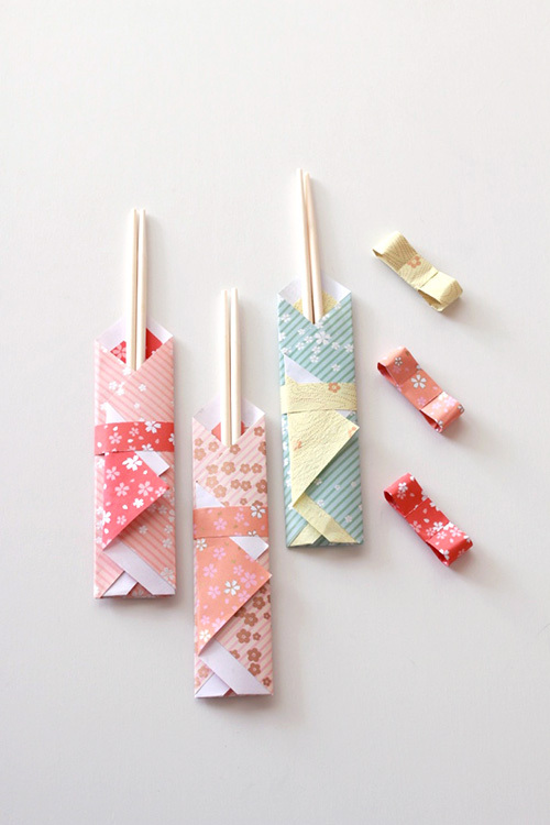 ハート 折り紙:箸袋 折り紙 箸置き-jocee.jp